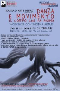 Danza e movimento - ottobre 2015